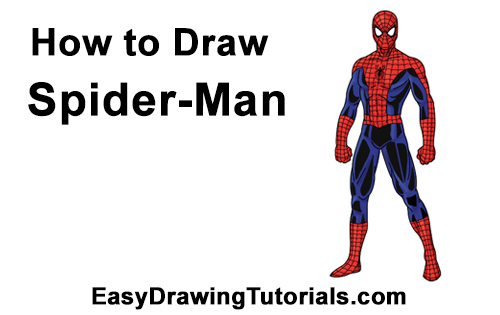 How to Draw Spider-Man Body