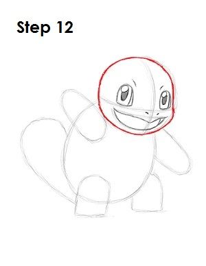 squirtle pokemon drawing