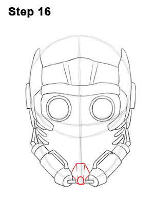 V For Vendetta Mask Drawing How to Draw Star-Lord ...