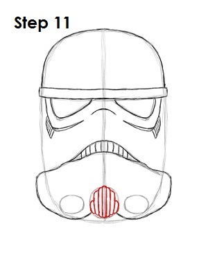 how to draw a stormtrooper full body