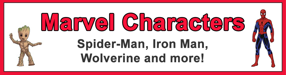 How to Draw Marvel Characters Popular Categories