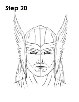 easy thor drawings - photo #29
