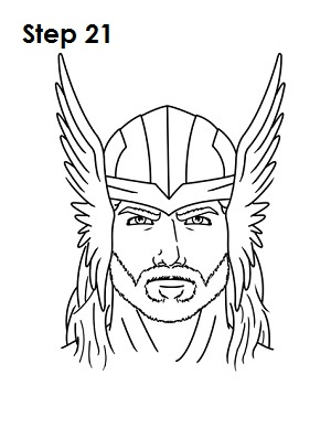 easy thor drawings - photo #8