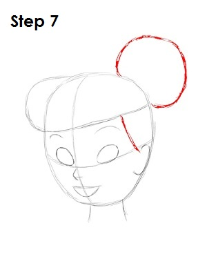 Draw Tinkerbell Step 7