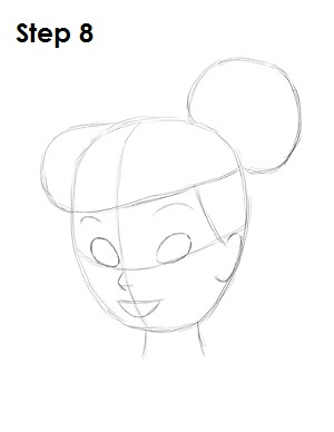 Draw Tinkerbell Step 8