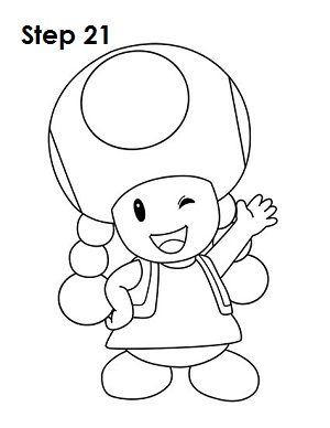 How To Draw Toadette