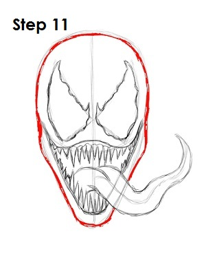 Spiderman drawings venom - photo#6