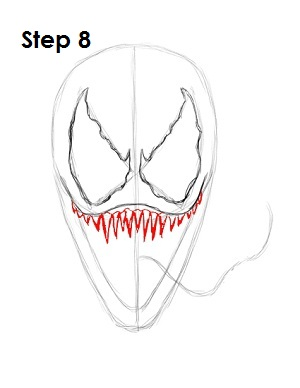 How To Draw Venom Spider Man
