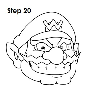 The Gallery For Gt Waluigi Coloring Page Wario Coloring Pages