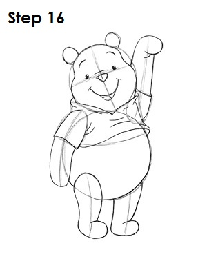 Gallery For gt Winnie The Pooh Sketch