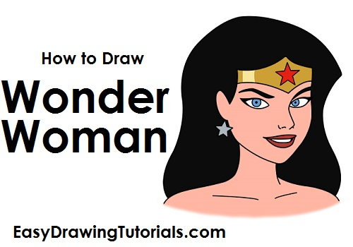 How to Draw Wonder Woman