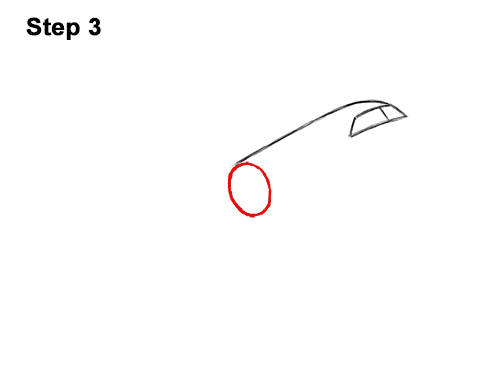 How to Draw Cartoon Airplane 3