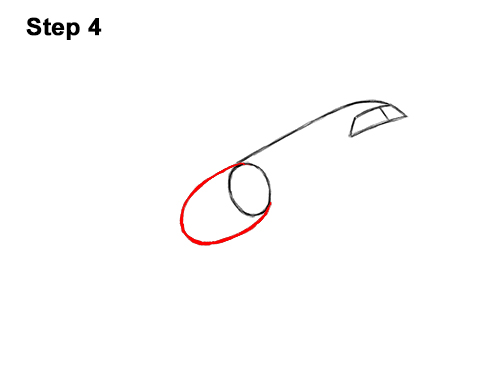 How to Draw Cartoon Airplane 4