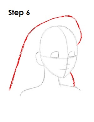 How to Draw Alice Step 6