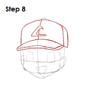 Ash Ketchum Pokemon Step 8
