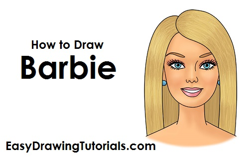How to Draw Barbie