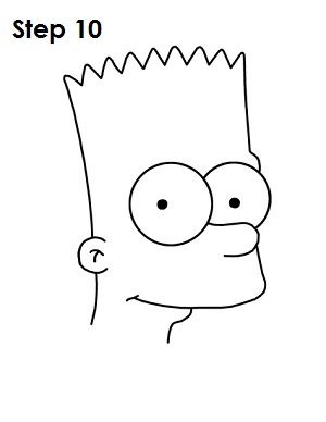 Bart Simpson Step 10