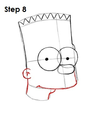Bart Simpson Step 8