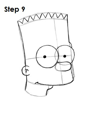 Bart Simpson Step 9
