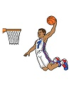 How to Draw Cartoon Basketball Player