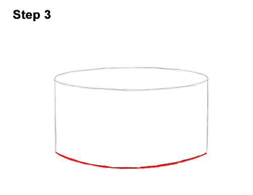 How to Draw Cartoon Birthday Cake Candle 3