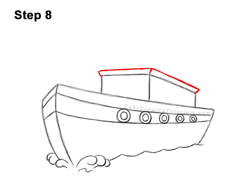 How To Draw A Boat Ship Video Step By Step Pictures