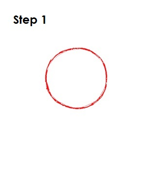 How to Draw Cosmo Step 1