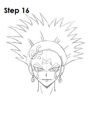 Draw Crow Hogan Step 16