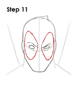 Draw Deadpool Marvel 11