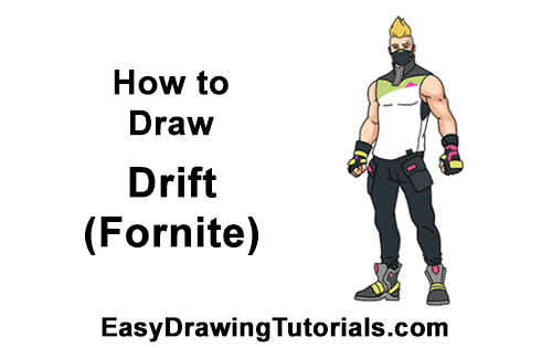 How to Draw Drift Skin Fortnite Season 5 Battle Royale