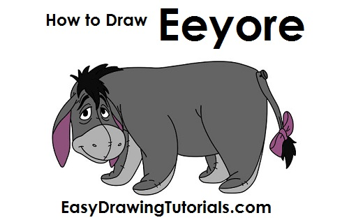 How to Draw Eeyore