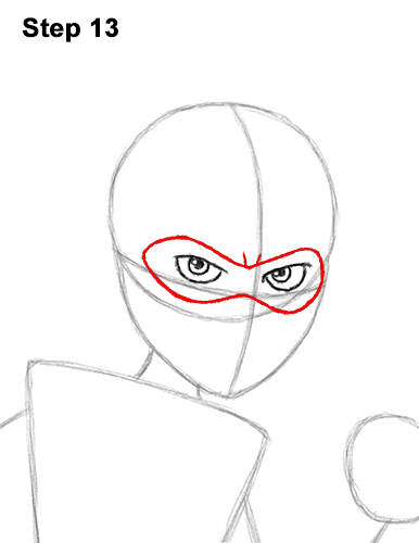 How to Draw Elastigirl Helen Parr Incredibles 13