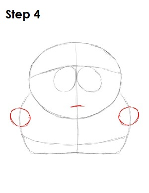 Draw Eric Cartman Step 4