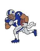 How to Draw Cartoon Football Player