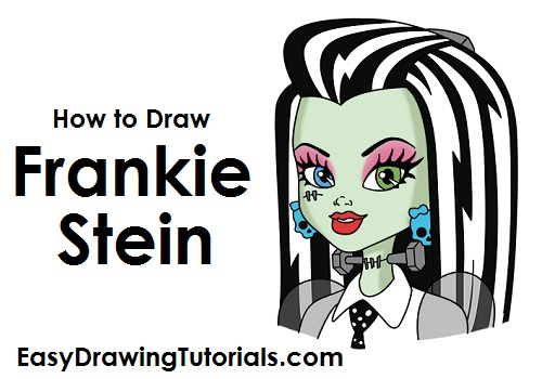 How to Draw Frankie Stein