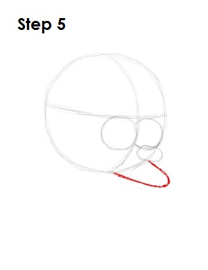How to Draw Fry Step 5