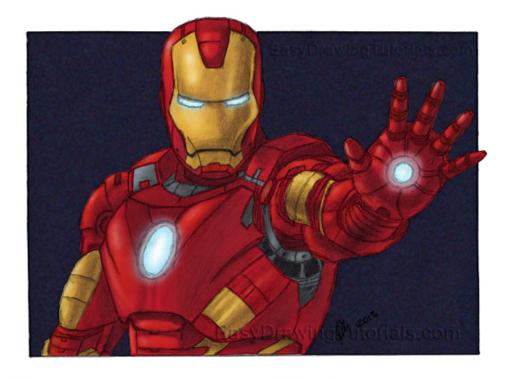 Iron Man 3 Giveaway Color