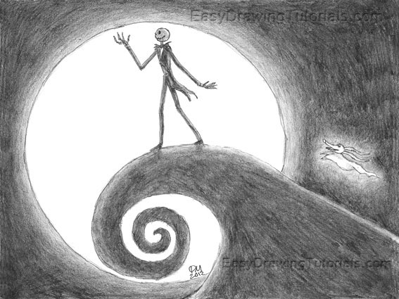 Nightmare Before Christmas Drawing