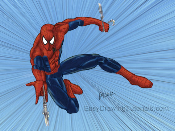 Spider-Man Drawing