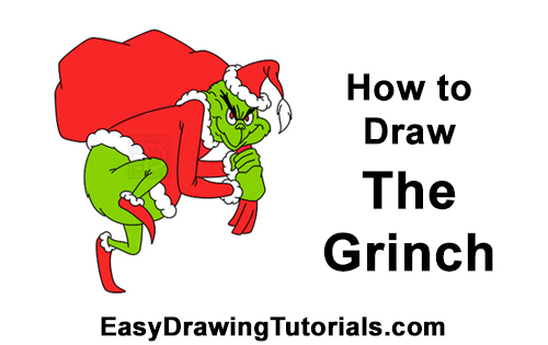 How to Draw The Grinch Stole Christmas