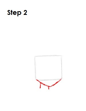 How to Draw Huey Boondocks Step 2