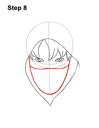 How to Draw Fortnite Ikonik Skin 8