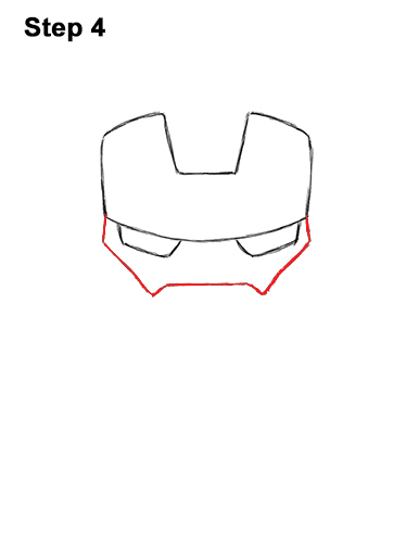 Draw Mini Chibi Cute Little Iron Man 4