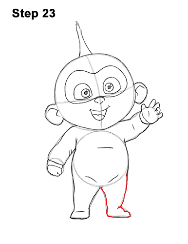 How to Draw Jack Jack Cute Baby Incredibles 23