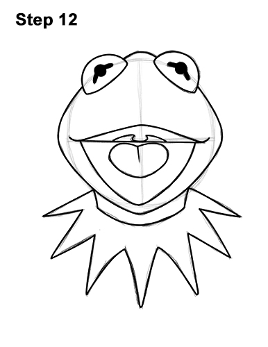 How to Draw Kermit the Frog Muppet 12