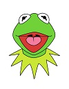 How to Draw Kermit the Frog Muppets
