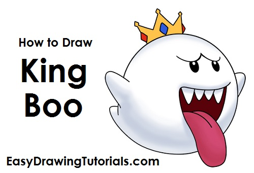 How to Draw King Boo