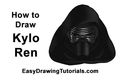 How to Draw Kylo Ren