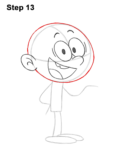 How to Draw Lincoln Loud House 13