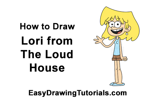 How to Draw Lori Loud House Full Body